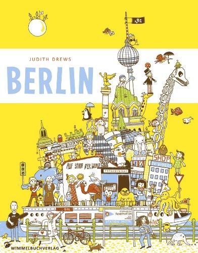 Berlin Wimmelbuch pocket – Ausbruch aus dem Zoo - von Judith Drews