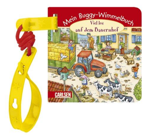 Buggy-Bücher - Wimmelspaß - Viel los auf dem Bauernhof - Mein Buggy-Wimmelbuch von Koachim Krause