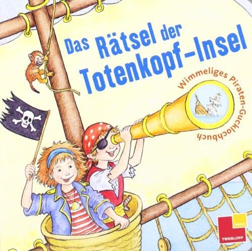 Das Rätsel der Totenkopf-Insel. Wimmeliges Piraten-Gucklochbuch