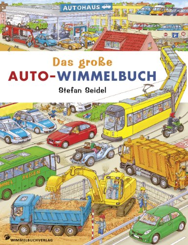 Das große Auto Wimmelbuch - Classic Edition