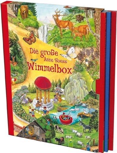 Die große Anne Suess Wimmelbox - 3 Wimmelbücher im Schuber