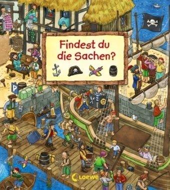 Findest Du die Sachen - Wimmelbilderbuch von Joachim Krause