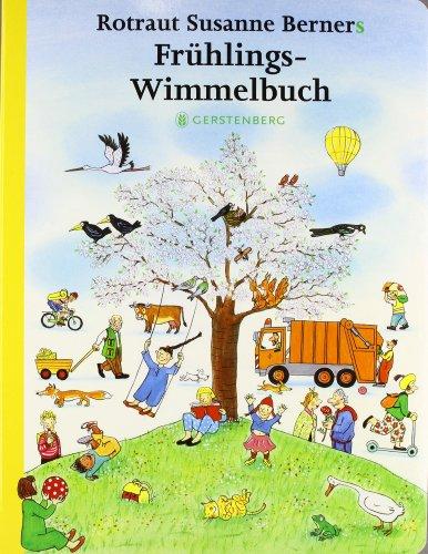Frühlingswimmelbuch von Susanne Berner - Buchcover