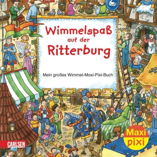 Maxi-Pixi Nr. 5 - Wimmelspaß auf der Ritterburg - Mein großes Wimmel-Maxi-Pixi-Buch - von Joachim Krause