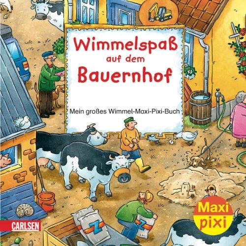 Maxi-Pixi Nr. 8 - Wimmelspaß auf dem Bauernhof - Mein großes Wimmel-Maxi-Pixi-Buch - von Joachim Krause