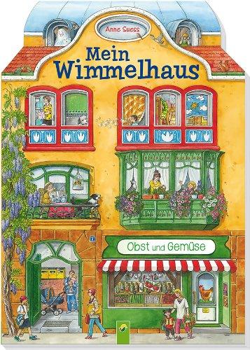 Mein Wimmelhaus - Mit Konturenstanzung, Guckfenstern und Türchen von Anne Suess