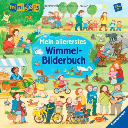 Mein allererstes Wimmel-Bilderbuch von Daniela Prusse und Martina Kohl - Buchcover