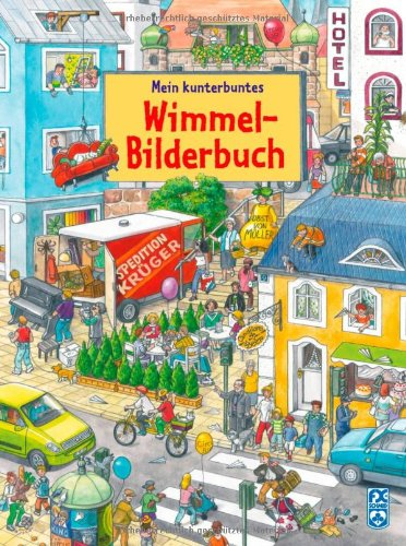 Mein kunterbuntes Wimmelbilderbuch von Anne Suess