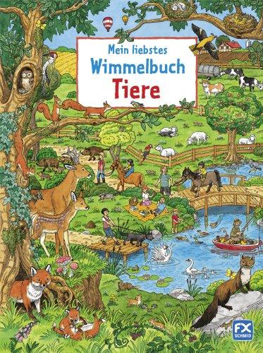 Mein liebstes Wimmelbuch Tiere von Caryad