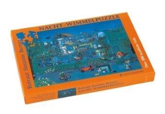 Nacht-Wimmel-Puzzle - 104 Teile, Motivformat 48 x 32 cm