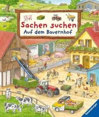Sachsen suchen auf dem Bauernhof - Wimmelbild-Buch