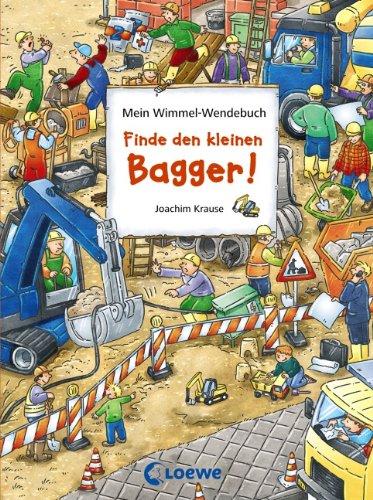 Wimmel Wendebuch - Finde den Bagger und Finde den Ritterhelm