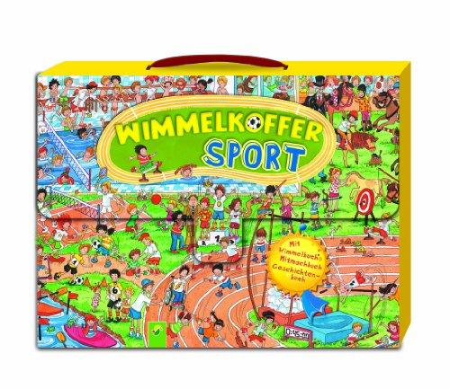 Wimmelkoffer-Sport - Mit Wimmelbuch, Mitmachbuch & Geschichtenbuch