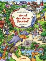 Wo ist der kleine Drache - Mein großes Wimmel-Guckloch-Buch von Joachim Krause
