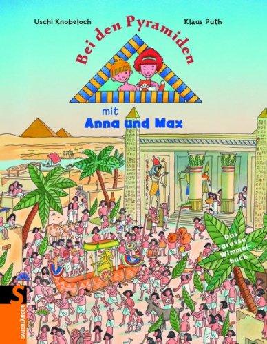 Bei den Pyramiden mit Anna und Max