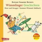 Maxi-Pixi Nr. 97 - VE 5 Wimmlinger Geschichten – Peter und Struppi und Malbuch - Doppelband - von Rotraut Susanne Berner