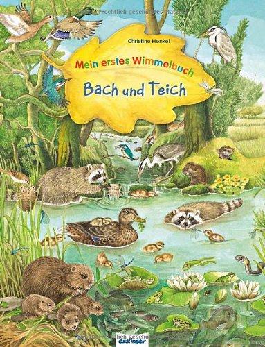 Mein erstes wimmelbuch bach und teich for Wassertiere teich