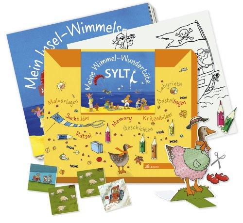 Meine Wimmel-Wundertüte Sylt - Großes Beschäftigungsheft + Basteln + Memory