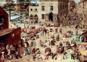 Pieter Bruegel der Ältere: Die Kinderspiele, 1560