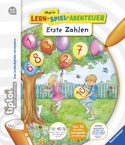 tiptoi® Mein Lern-Spiel-Abenteuer - tiptoi® Erste Zahlen