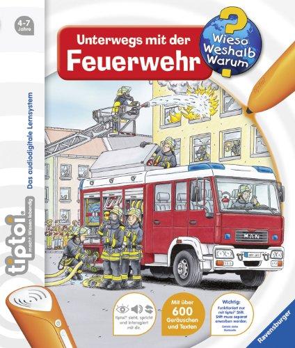 tiptoi® Wieso, Weshalb, Warum 6 - tiptoi® Unterwegs mit der Feuerwehr