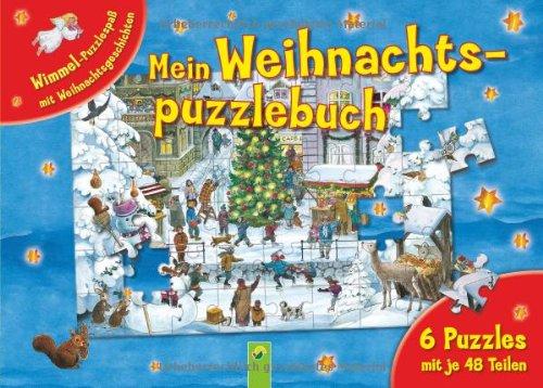 Mein Weihnachtspuzzlebuch. 6 Puzzles mit je 48 Teilen von Anne Suess
