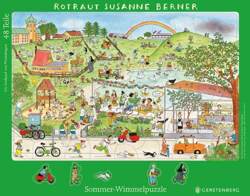 Wimmel-Rahmenpuzzle Sommer von Rotraut Susanne Berner