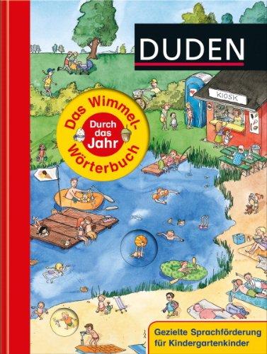 Duden – Das Wimmel-Wörterbuch – Durch das Jahr - von Stefanie Scharnberg