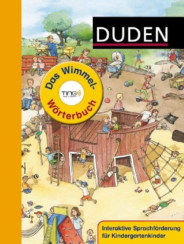 Duden - Das Wimmel-Wörterbuch - Ting-Ausgabe - von Stefanie Scharnberg