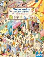Wimmelbuch Zirkus: Viele bunte Sachen suchen mit Jakob und Conni: Wimmel-Zirkus-Spaß von Peter Friedl