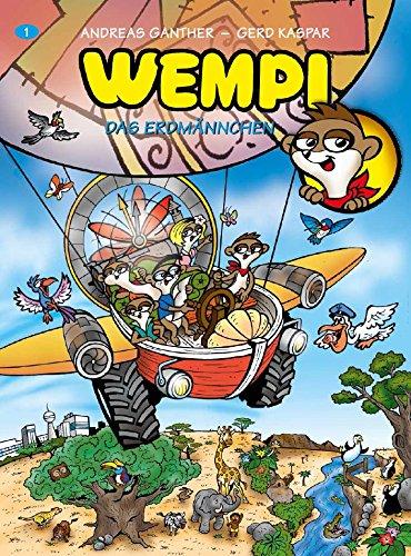 WEMPI Wimmelbuch - Das Erdmännchen: Wempi und seine Freunde