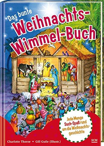 Das bunte Weihnachts-Wimmelbuch von Gill Guile