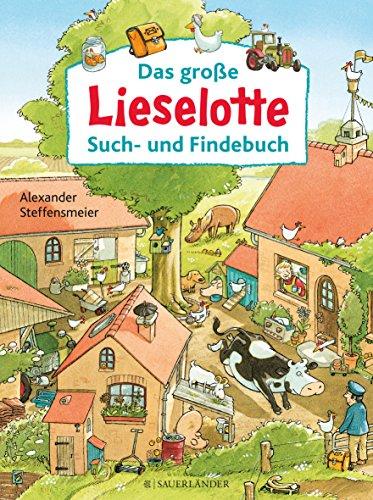 Lieselotte-Wimmelbuch - Das große Lieselotte Such- und Findebuch