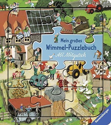 Mein großes Wimmel-Puzzlebuch von Ali Mitgutsch