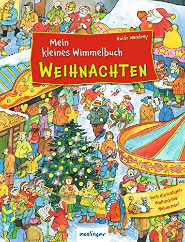 Weihnachten-Wimmelbuch von Guido Wandrey, Cover