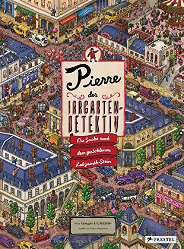 Wimmelbuch Pierre, der Irrgarten-Detektiv
