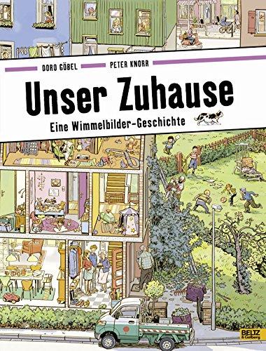 Wimmelbuch Unser Zuhause von Doro Göbel und Peter Knorr