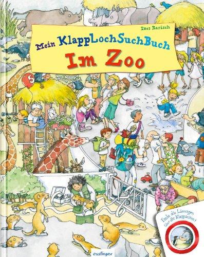 Wimmelbuch Zoo mit Klapploch