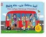 Fahrzeuge-Wimmelbuch Steig ein, Cover