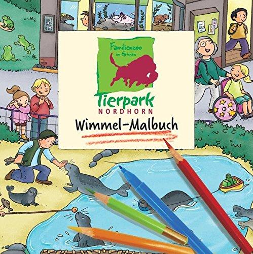 Tierpark Nordhorn Wimmel-Malbuch von Carolin Görtler