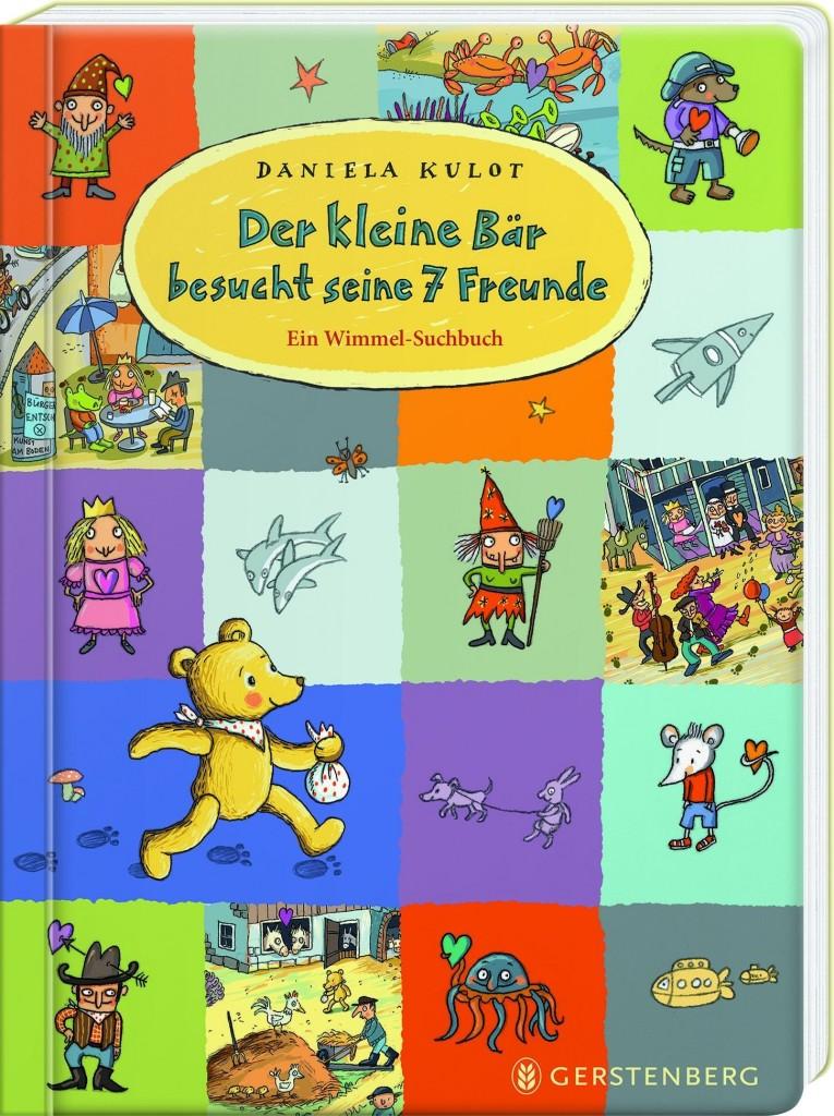 Wimmel-Suchbuch - Der kleine Bär sucht seine 7 Freunde von Daniela Kulot