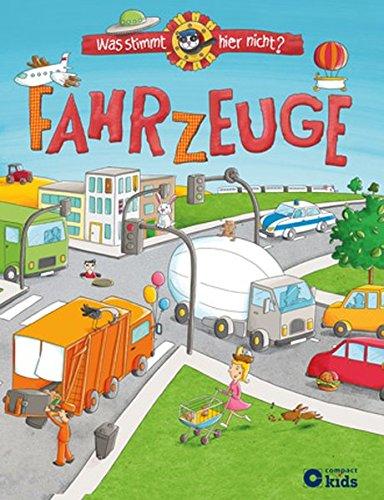 Wimmelbuch Fahrzeuge - Was stimmt hier nicht - Johanna Fritz