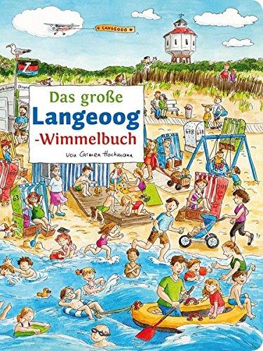 Das große LANGEOOG-Wimmelbuch von Carmen Hochmann