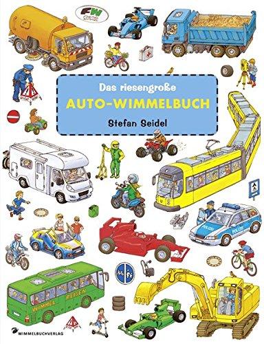 Das riesengroße Auto-Wimmelbuch von Stefan Seidel