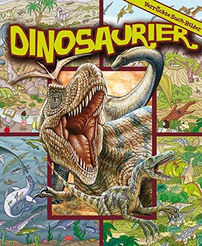 Dinosaurier Wimmelbuch - Verrückte Such-Bilder