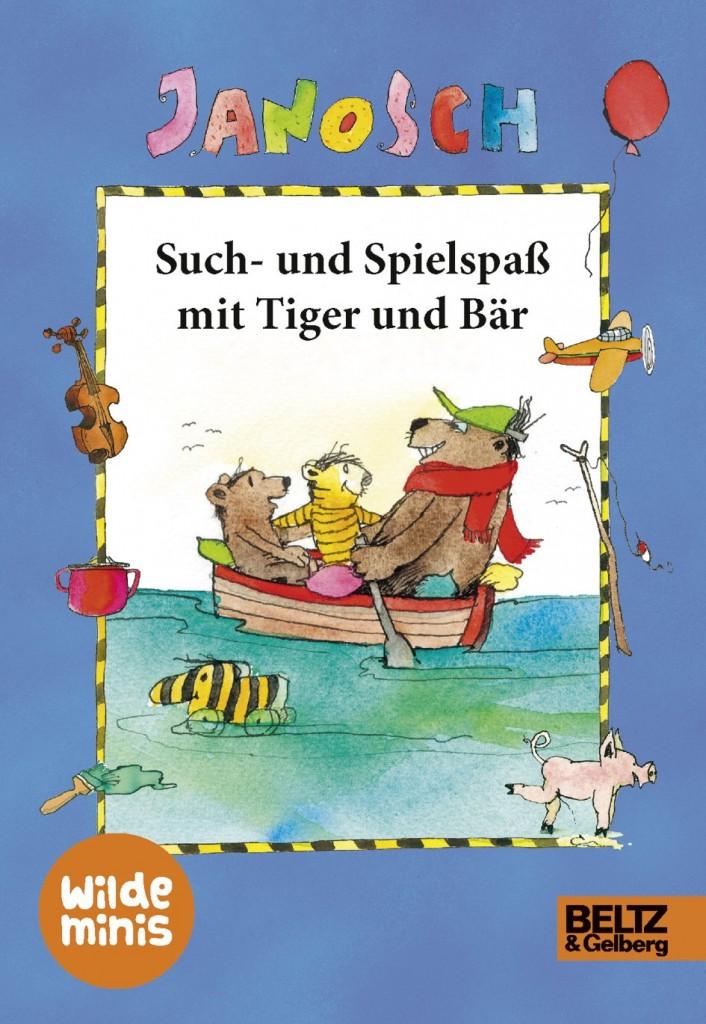 Janosch Wimmelbuch - Such- und Spielspaß mit Tiger und Bär - Wilde Minis