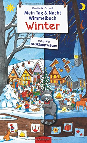 Mein Tag & Nacht Wimmelbuch Winter von Kerstin Schuld