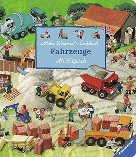 Mein Wimmel-Suchbuch Fahrzeuge von Ali Mitgutsch