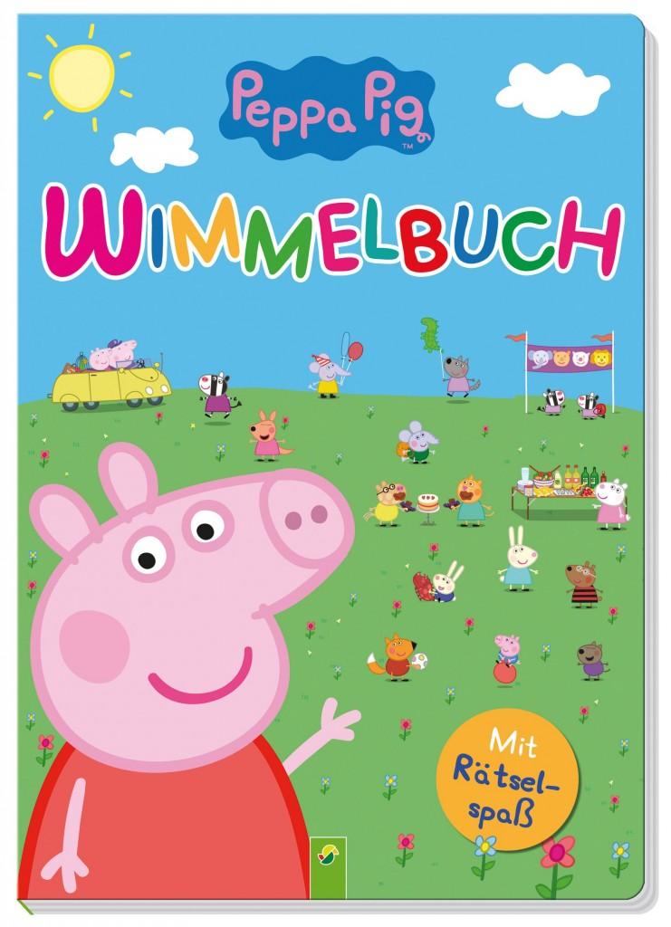 Peppa Pig Wimmelbuch - Mit Rätselspaß - Peppa Wutz