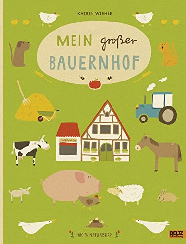 Wimmelbuch - Mein großer Bauernhof - Naturbuch von Katrin Wiehle